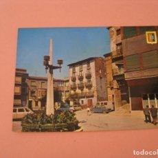 Cartes Postales: POSTAL DE FRAGA, HUESCA. PLAZA DE SAN PEDRO. ED. ESCUDO DE ORO. ESCRITA.. Lote 199161957