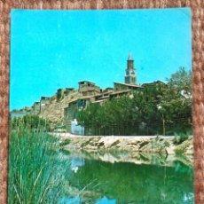 Cartes Postales: FRAGA - HUESCA - VISTA DESDE EL RIO CINCA. Lote 199182902