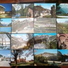 Postales: HUESCA, PIRINEO ARAGONÉS, ORDESA, RIGLOS, LOTE DE 48 POSTALES. Lote 199643390