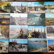 Postales: ZARAGOZA, LOTE DE 48 POSTALES. Lote 199646418