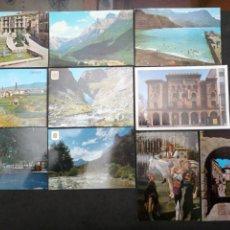 Postales: CALATAYUD, AGAETE, ALBARRACIN, PARQUE NACIONAL DE ORDESA. LOTE DE 10 POSTALES. Lote 199647400
