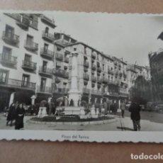 Postales: TERUEL. PLAZA DE CARLOS CASTEL. TORICO. ANTIGUA POSTAL. Lote 199764677