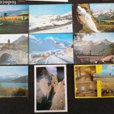 Postales: HUESCA, PEÑALBA, CANFRAC, BIELSA, VALLE DE TANA, LOTE DE 9 POSTALES. Lote 200159020