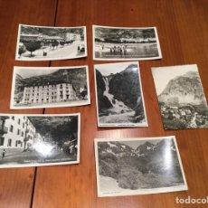 Postales: FOTOGRAFÍAS POSTALES ANTIGUAS BALNEARIO DE PANTICOSA. Lote 172214959