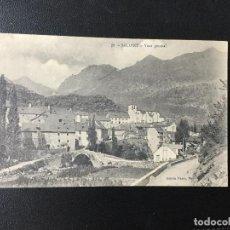 Postales: SALLENT , HUESCA , ARAGÓN , VISTA GENERAL , GASTÓN NANCY ,PAU. Lote 203263182