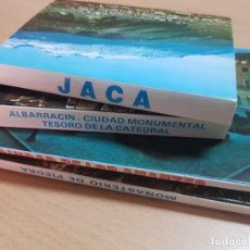 Postales: LOTE TACOS POSTALES ARAGON JACA ZARAGOZA TERUEL. Lote 204182495