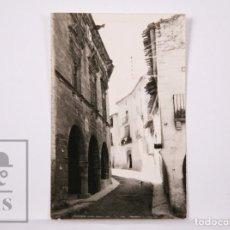 Postales: POSTAL FOTOGRÁFICA - TERUEL. VISTAS DE TORRE DEL COMPTE - EXCLUSIVAS RAMONA VALLE. Lote 204238282
