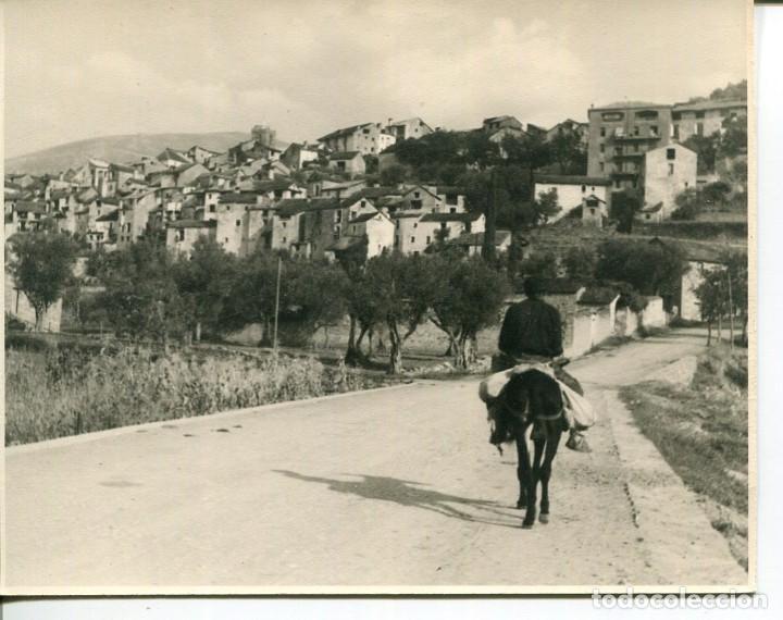 BOLTAÑA-VISTA GENERAL-FOTOGRÁFICA AÑO 1950- RARA (Postales - España - Aragón Moderna (desde 1.940))