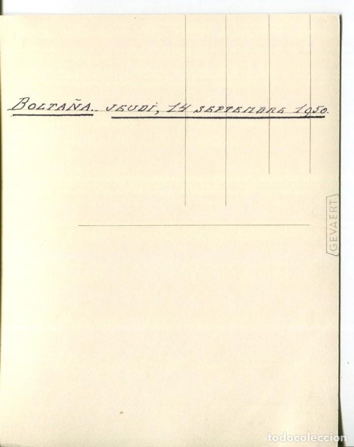 Postales: BOLTAÑA-VISTA GENERAL-FOTOGRÁFICA AÑO 1950- RARA - Foto 2 - 205206402