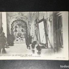 Postales: HUESCA , ARAGÓN , EXPOSICION 1906 , FOT. LUCAS ESCOLA ZARAGOZA , MUY RARA.. Lote 205305440