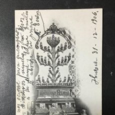 Postales: HUESCA , ARAGÓN , EXPOSICION 1906 , FOT. LUCAS ESCOLA DE ZARAGOZA , CEREAL MARIANO PELAYO MUY RARA. Lote 205306063