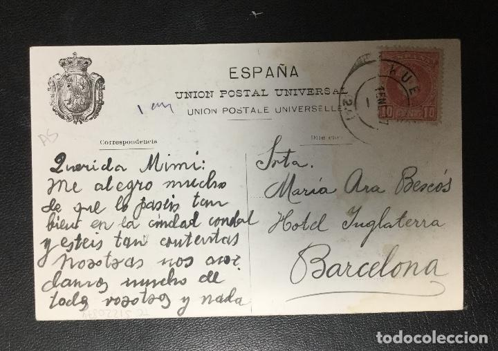 Postales: HUESCA , ARAGÓN , EXPOSICION 1906 , FOT. LUCAS ESCOLA DE ZARAGOZA , CEREAL MARIANO PELAYO MUY RARA - Foto 2 - 205306063