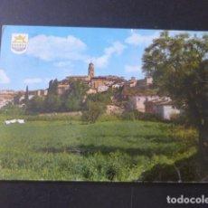 Postales: FONZ HUESCA VISTA GENERAL. Lote 205381442