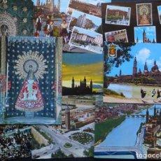 Postales: COLECCION DE 9 POSTALES DE ZARAGOZA, CIRCULADAS , VER FOTOS. Lote 205457332