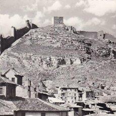 Postales: TERUEL ALBARRACIN SUBIDA A LA PLAZA Y MURALLAS. ED. DARVI Nº 4. CIRCULADA. Lote 205586117