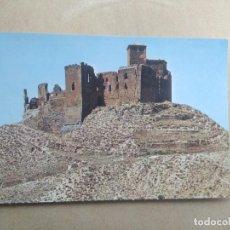 Postales: POSTAL HUESCA, CASTILLO ABADIA DE MONTEARAGON. Lote 205844666