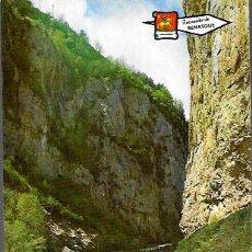 Cartes Postales: POSTAL * CONGOSTO DE VENTANILLO , ENTRADA AL VALLE DE BENASQUE * AÑO 1966. Lote 205881281