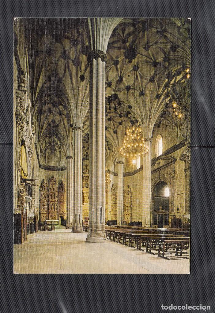 Nº 12 BARBASTRO. INTERIOR DE LA CATEDRAL (Postales - España - Aragón Moderna (desde 1.940))
