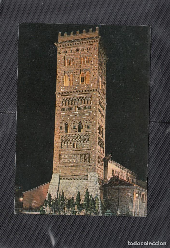 24 - TERUEL. IGLESIA DE SAN MARTIN. TORRE MUDEJAR (Postales - España - Aragón Moderna (desde 1.940))