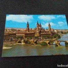 Postales: POSTAL DE ZARAGOZA- BASILICA DEL PILAR - LA DE LA FOTO VER TODAS MIS POSTALES. Lote 207052868