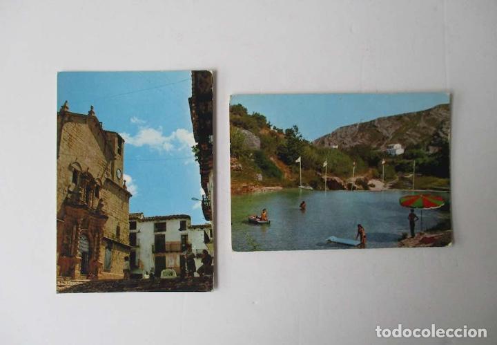 DOS POSTALES DE BECEITE, TERUEL (Postales - España - Aragón Moderna (desde 1.940))