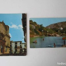 Postales: DOS POSTALES DE BECEITE, TERUEL. Lote 207228322