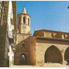 Postales: == C584 - POSTAL - CANTAVIEJA - TERUEL - PLAZA CRISTO REY. Lote 207252422