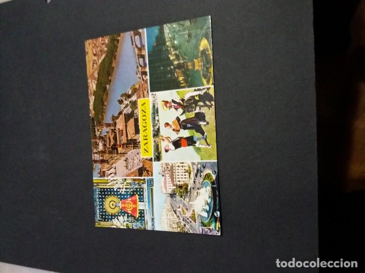 POSTAL DE ZARAGOZA - BONITAS VISTAS- LA DE LA FOTO VER TODAS MIS POSTA (Postales - España - Aragón Moderna (desde 1.940))