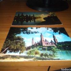 Postales: LOTE DE DOS POSTALES DE ZARAGOZA. AÑOS 60. Lote 207710007