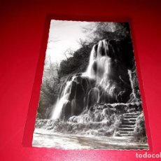 """Postales: ZARAGOZA"""" MONASTERIO DE PIEDRA"""" ESCRITA Y SELLADA 1957. Lote 208187453"""