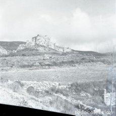 Postales: NEGATIVO ESPAÑA HUESCA LOARRE 1973 KODAK 55MM GRAN FORMATO FOTO PHOTO NEGATIVE. Lote 208461327