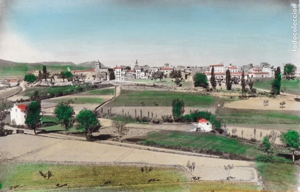HUESCA JACA VISTA PARCIAL. ED. SICILIA Nº 64. POSTAL EN BYN COLOREADA. SIN CIRCULAR (Postales - España - Aragón Antigua (hasta 1939))