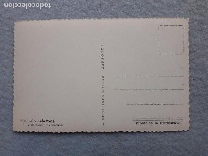 Postales: Boltaña. Huesca. Vista Parcial y Carretera. - Foto 2 - 210097892