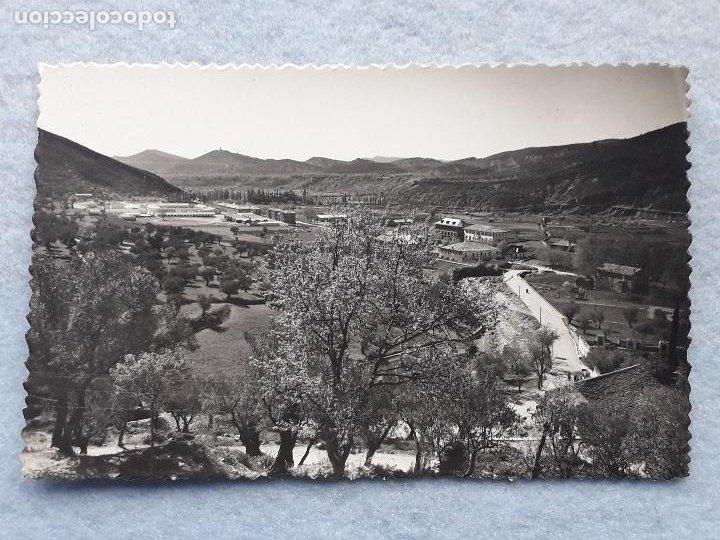 BOLTAÑA. HUESCA. VISTA PARCIAL Y CARRETERA. (Postales - España - Aragón Moderna (desde 1.940))