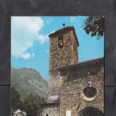 Postales: 101 BENASQUE. IGLESIA PARROQUIAL S. XIII. Lote 210137885