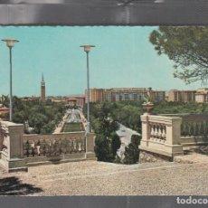 Postales: 728 ZARAGOZA. VISTA PANORÁMICA DEL PARQUE PRIMO DE RIVERA. Lote 210139715