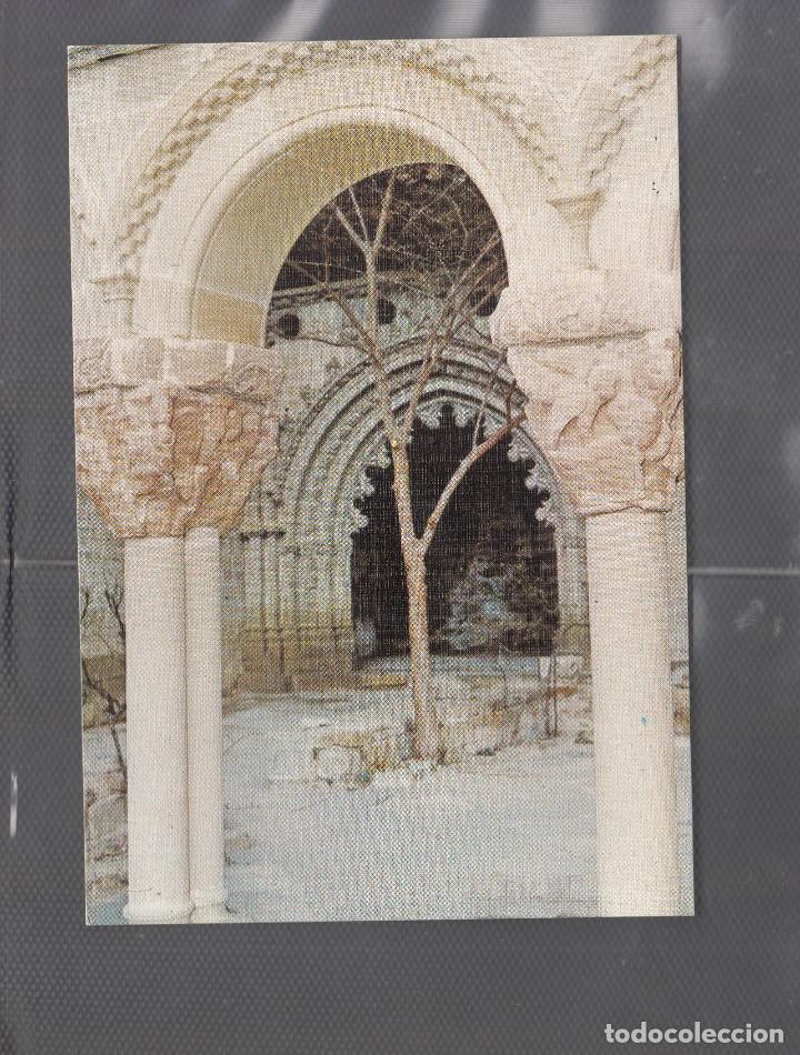 Nº 6 SAN JUAN DE LA PEÑA. PORTADA MOZARABE (Postales - España - Aragón Moderna (desde 1.940))
