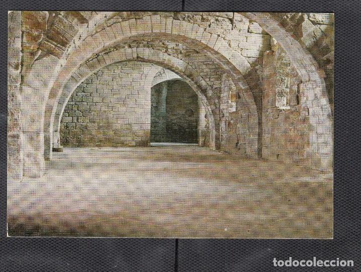 Nº8 SAN JUAN DE LA PEÑA. PARTE INTERIOR DEL MONASTERIO. ROMÁNICO (Postales - España - Aragón Moderna (desde 1.940))