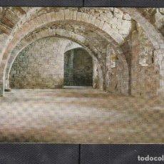 Postales: Nº8 SAN JUAN DE LA PEÑA. PARTE INTERIOR DEL MONASTERIO. ROMÁNICO. Lote 210229591