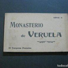 Postales: MONASTERIO DE VERUELA-BLOC CON 12 POSTALES ANTIGUAS-EDICION J.MORA INSA-VER FOTOS-(72.353). Lote 210248347