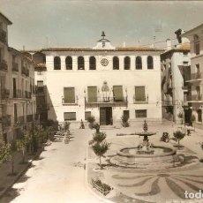 Postales: BORJA Nº 7 PLAZA DE ESPAÑA CIRCULADA EN 1960. Lote 210316957