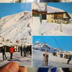 Postales: POSTAL CANFRANC CANDANCHU HUESCA ESTACIÓN INVERNAL N 7 SICILIA 1968 ESCRITA. Lote 210401418