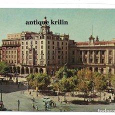 Postales: ZARAGOZA Nº 4 PLAZA ESPAÑA Y DIPUTACION .- 1959 VILA SALA HERMANOS. Lote 210477677
