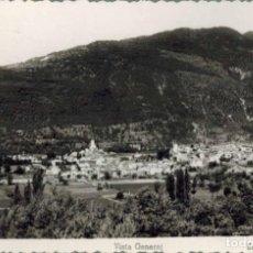 Postales: BIESCAS, HUESCA. VISTA GENERAL. FOTOGRÁFICA ED. ARRIBAS. CIRCULADA 1954. Lote 210527686