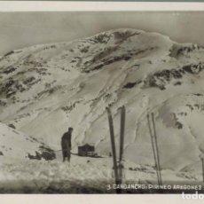 Postales: CANDANCHÚ, HUESCA. PIRINEO ARAGONÉS 1650MTS, Nº 3. FOTOGRÁFICA. SIN CIRCULAR. Lote 210527703