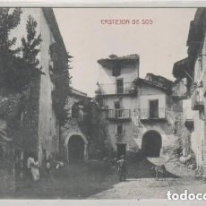 Postales: CASTEJON DE SOS . EDICIÓN E. BIELSA. CLICHE M. ARRIBAS. HUESCA. Lote 210565906