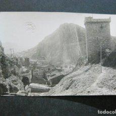 Postales: ALHAMA DE ARAGON-CASTILLO Y DETALLE DEL PUEBLO-ARCHIVO ROISIN-FOTOGRAFICA-POSTAL ANTIGUA-(72.460). Lote 210607110