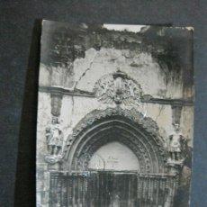 Postales: ALHAMA DE ARAGON-MONASTERIO PIEDRA-PORTADA-ARCHIVO ROISIN-FOTOGRAFICA-POSTAL ANTIGUA-(72.462). Lote 210607325