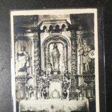 Postales: EJEA DE LOS CABALLEROS , ZARAGOZA , SAGRADO CORAZÓN, IGLESIA DEL SALVADOR , FOTOGRÁFICA .. Lote 210675857