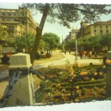 Postales: POSTAL ZARAGOZA .-PL.ARAGON Y Pº INDEPENDENCIA ESCRITA. Lote 210705166